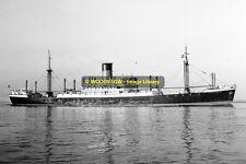 mc0086 - Glen Line Cargo Ship - Denbighshire , built 1939 - photo 6x4