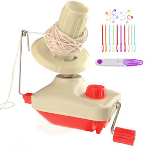 Yarn Winder - Easy to Set Up and Use - Hand Operated Yarn Ball Winder
