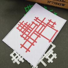 Irregular Net Cutting Dies Stencil Scrapbooking Album Pepar Card Embossing Craft