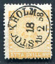 SCHWEDEN 1855 4 gestempelt VORZÜGLICHES LUXUSSTÜCK (S3343