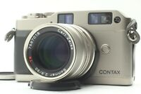 [EXC+5] Contax G1 Rangefinder Film Camera Sonnar 90mm f2.8 Lens From JAPAN