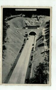 1942 Turnpike Post Card - Pennsylvania Turnpike Tuscarora Mountain Portal