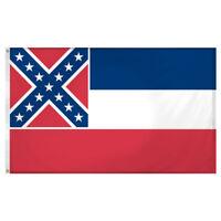 Mississippi flag 3 x 5 feet Super Knit polyester