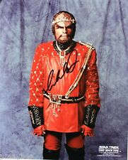 "Michael Dorn as Worf Autographed 8""X10"" Photo - Star Trek - Deep Space Nine"