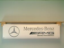Mercedes AMG Banner Workshop Performance Garage Advertising pvc Display Sign