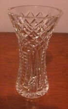 """WATERFORD Crystal Vase, Approx. 6"""" Tall."""