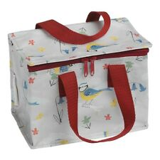 dotcomgiftshop BLUE TIT INSULATED COOL LUNCH BAG