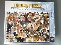 King 1000 Piece Animal Collection Jigsaw Puzzle CATS 5016