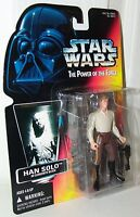 Star Wars POTF Han Solo Carbonite With Variation Blocked Text 1996 .01 Red Card