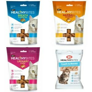 Mark & Chappell Healthy Bites Natural Treats For Cats & Kittens Supplement 65g