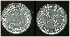 ALLEMAGNE 50 reichspfennig  1927 J