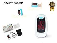 CMS50M  Saturimetro Ossimetro Pulsossimetro da dito con display a colori IT