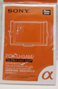 NEW GENUINE SONY PCK-LH3AM LCD Protector Cover A350 A300
