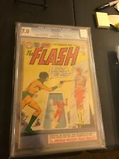 Flash #119 CGC 7.0 WHITE PAGES! Early Mirror Master! Elongated Man' Marries Sue!
