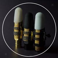 Silicone Saxophone Mouthpiece Cap White for Baritone Sax Saxophone Accessory