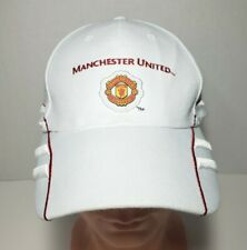 Manchester United Soccer Futbol Adjustable Strapback Hat By RhinoX Group NWT