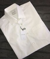 Mens PAUL SMITH Slim Fit Peaky Blinders Short Sleeve Shirt Size M Pit To Pit 20""