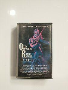Ozzy Osbourne/Randy Rhoads - Tribute - Cassette Tape