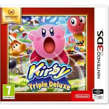 Nintendo 3ds Game Kirby Triple Deluxe 2ds Compatible