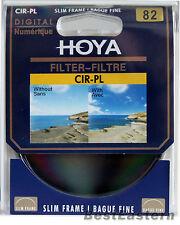 Hoya 82mm CPL Filter Slim Circular Polarizing / Polarizer CIR-PL