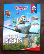 DISNEY PLANES Sticker Scenes Book  - 40+ STICKERS & STORY /  DUSTY - New