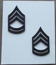 US Army Subdued Collar Rank Insignia Sergeant First Class E-7