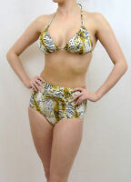 sheridyn swimwear high waisted denim bikini separates