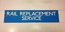 "London Bus Blind Nov 91 Houns (25"") - Rail Replacement Service"