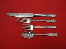 Shirley by National Sterling Silver Regular Size Place Setting(s) 4pc