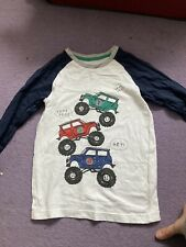 Boys Long Sleeved Tops 5/6 But Worn 4/5