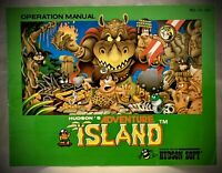 Hudson's Adventure Island - NES Nintendo Operation Manual Instruction Book Only