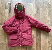 Ll Bean Northwoods Outerwear Insulated Puffer Parka Coat Jacket Large Maroon