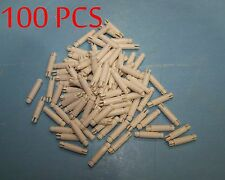 "100pcs Nylon PCB Locking Snap In Posts Spacers .500""L"