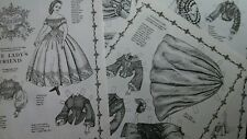 Vtg 1981 Pat Stall Fashion Doll Adrienne Paper Doll 4pg Uncut