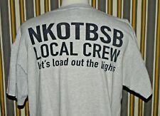 Harley Davidson New Kids on the Block Backstreet Boys Local Crew T-shirt Size XL