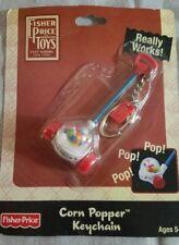 Fisher Price CORN POPPER  Keychain Mini Miniature