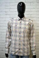 Camicia Uomo TOMMY HILFIGER Taglia L Maglia Polo Camicetta Shirt Men's Pois