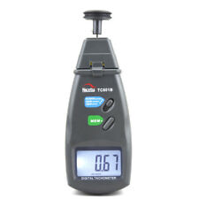 Digital Electronic Laser Photo Tachometer Non Contact RPM Measurement Rotation