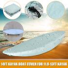 Waterproof Canoe Kayak Boat Cover Waterproof Storage Dust Cover For 13FT Canoes
