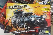 NEW G.I. JOE RETALIATION NINJA COMBAT CRUISER WITH NIGHT FOX!!