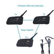 Match Football Soccer Referee Intercom 1200M Bluetooth Kit 4 Users Full Duplex