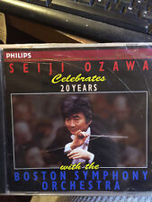 Seiji Ozawa Celebrates 20 Years with the Boston Symphony (Philips)