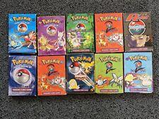 More details for 10 x empty vintage pokemon deck boxes lot bundle
