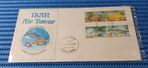 1983 Malaysia First Day Cover Fresh Water Fish Commemorative Stamp Issue