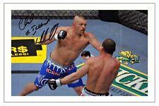 CHUCK LIDDELL UFC MMA SIGNED PHOTO PRINT AUTOGRAPH