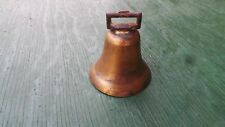 "Vintage Brass Horse Bell 2 5/8"" High Beautiful Patina"