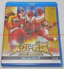 New Super Sentai The Movie Vol.3 Blu-ray Japan F/S BSTD-3903 4988101187737
