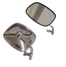 VW Bus 1968-1979 Chrome Mirror Set Pair Left and Right NEW Transporter Van