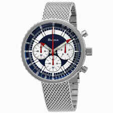 Bulova Men's 96K101 LIMITED EDITION Chronograph Stainless Steel 50mm Watch