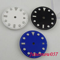 28.5mm 3 colors Watch Dial fit MIYOTA 8215 821A Mingzhu 2813 Automatic movement